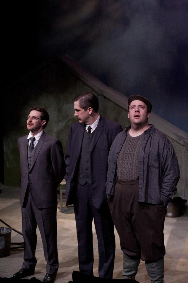 Theater Review Opposing Ideas Shift And Crackle In Plan B