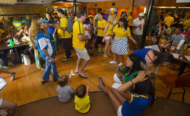 Utah Soccer Fans Party At Brazilian Restaurants For World Cup