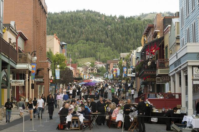 Park City Main Street Became One Long Dining