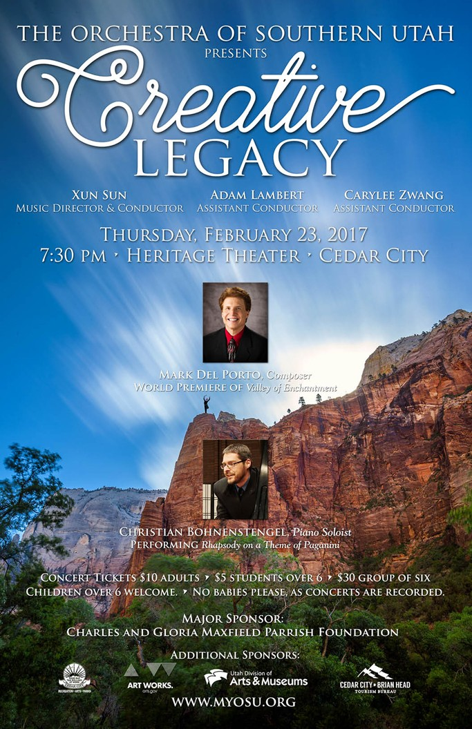 creative legacy at heritage center theater cedar city in